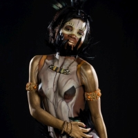 African Bodypainting