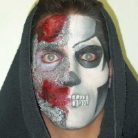 Theatrical-Make-up-Death-mask