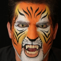 Theatrical-Make-up-Tiger