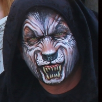 Theatrical-Make-up-Wolf