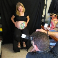 Pregnant Belly Painting 4