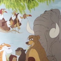Jungle Book Mural
